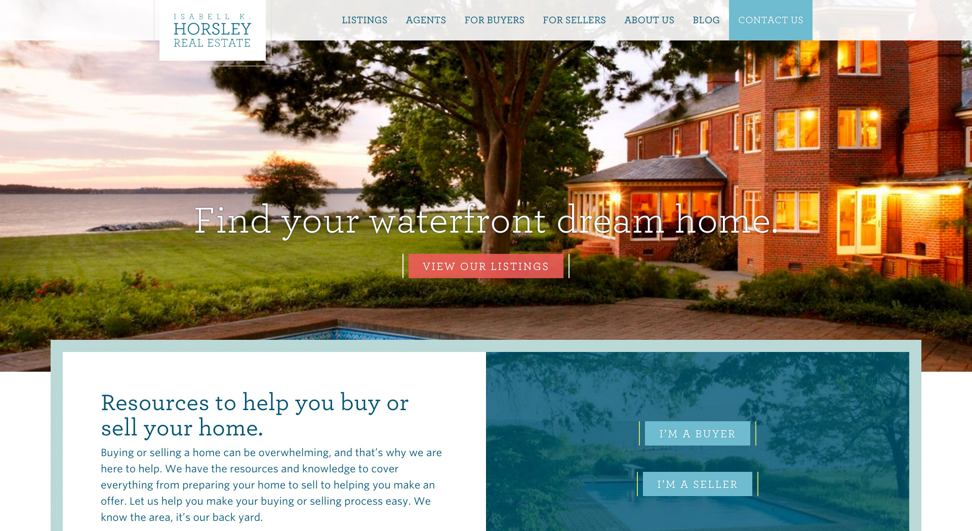 horsley real estate home page