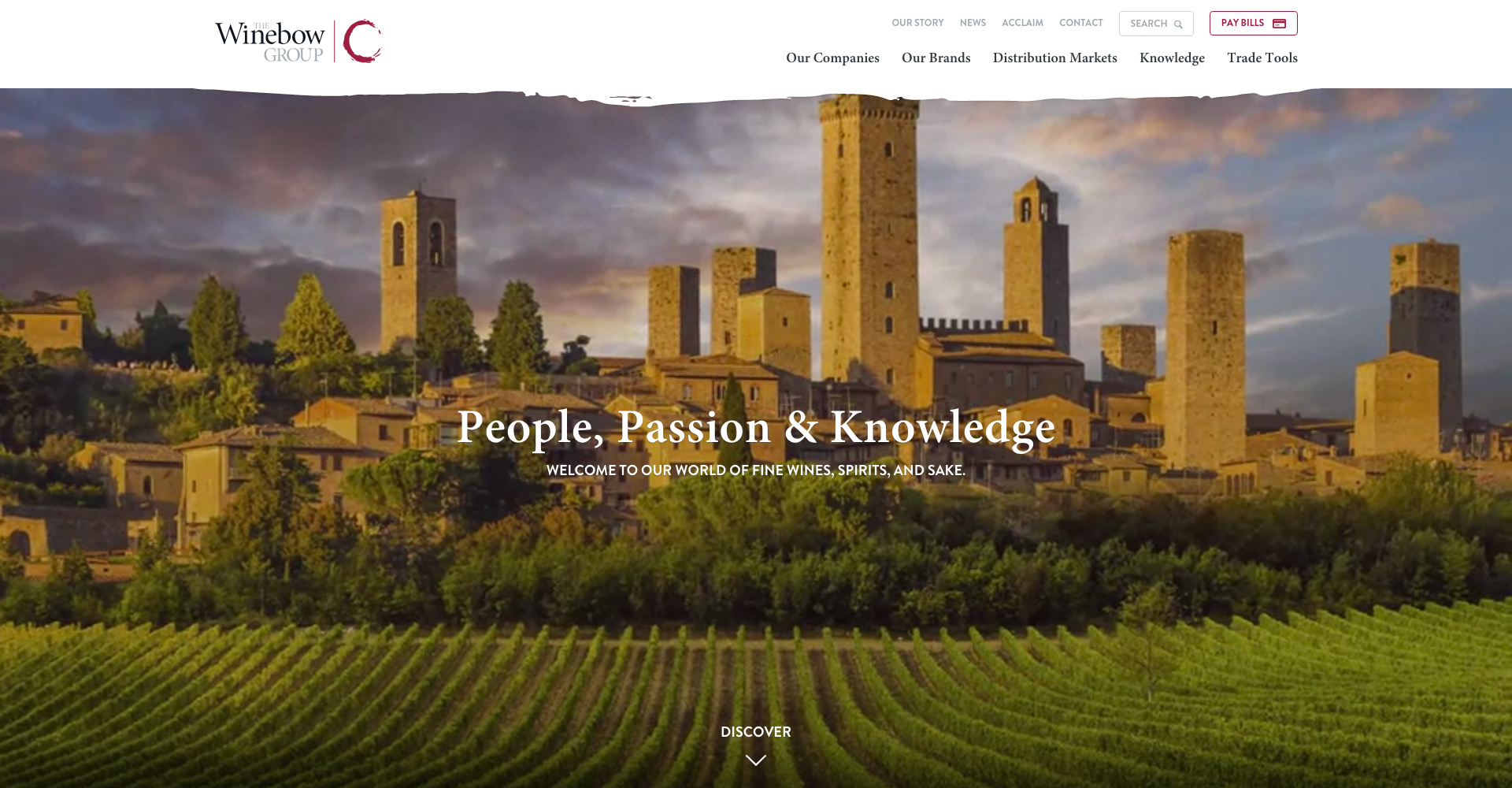the winebow group home page